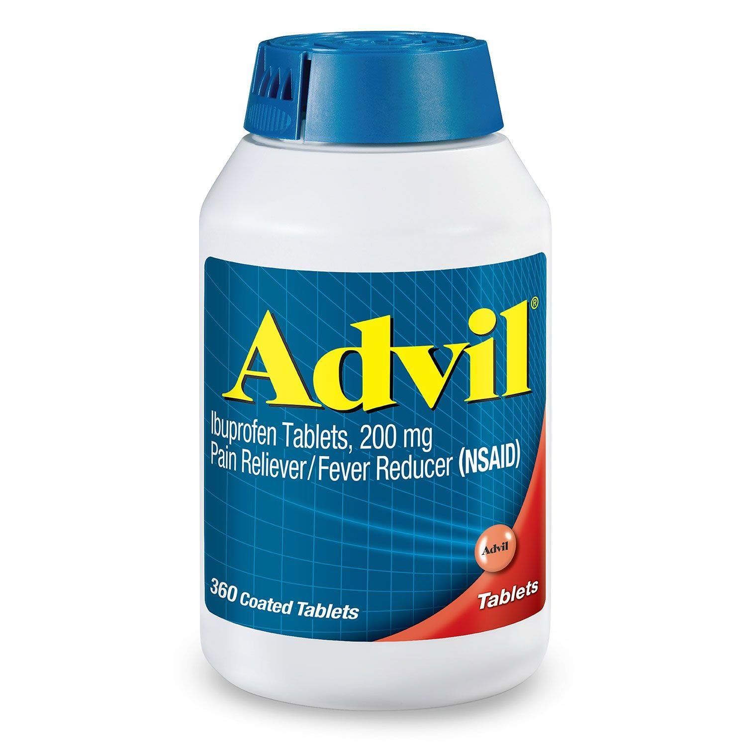 Advil Pain Reliever/Fever Reducer, 200mg Ibuprofen pos3re Pack of 1 Pack (360 ct Each) by Altoids