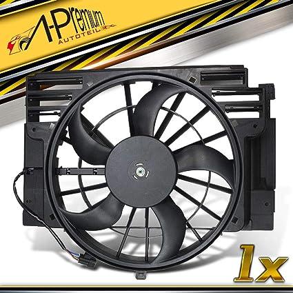 Enfriador Ventilador Motor enfriador para X5 E53 AB bj. 2000/05 ...