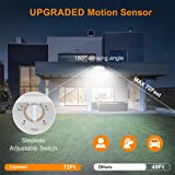 LEPOWER 1600LM LED Solar Security Lights Motion