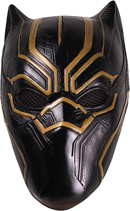 hcoser máscara de Pantera Negra Black Panther para Carnaval y ...