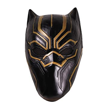 Wählen Sie für echte attraktiv und langlebig Gedanken an hcoser Black Panther Maske Helm perfekt für Karneval ...