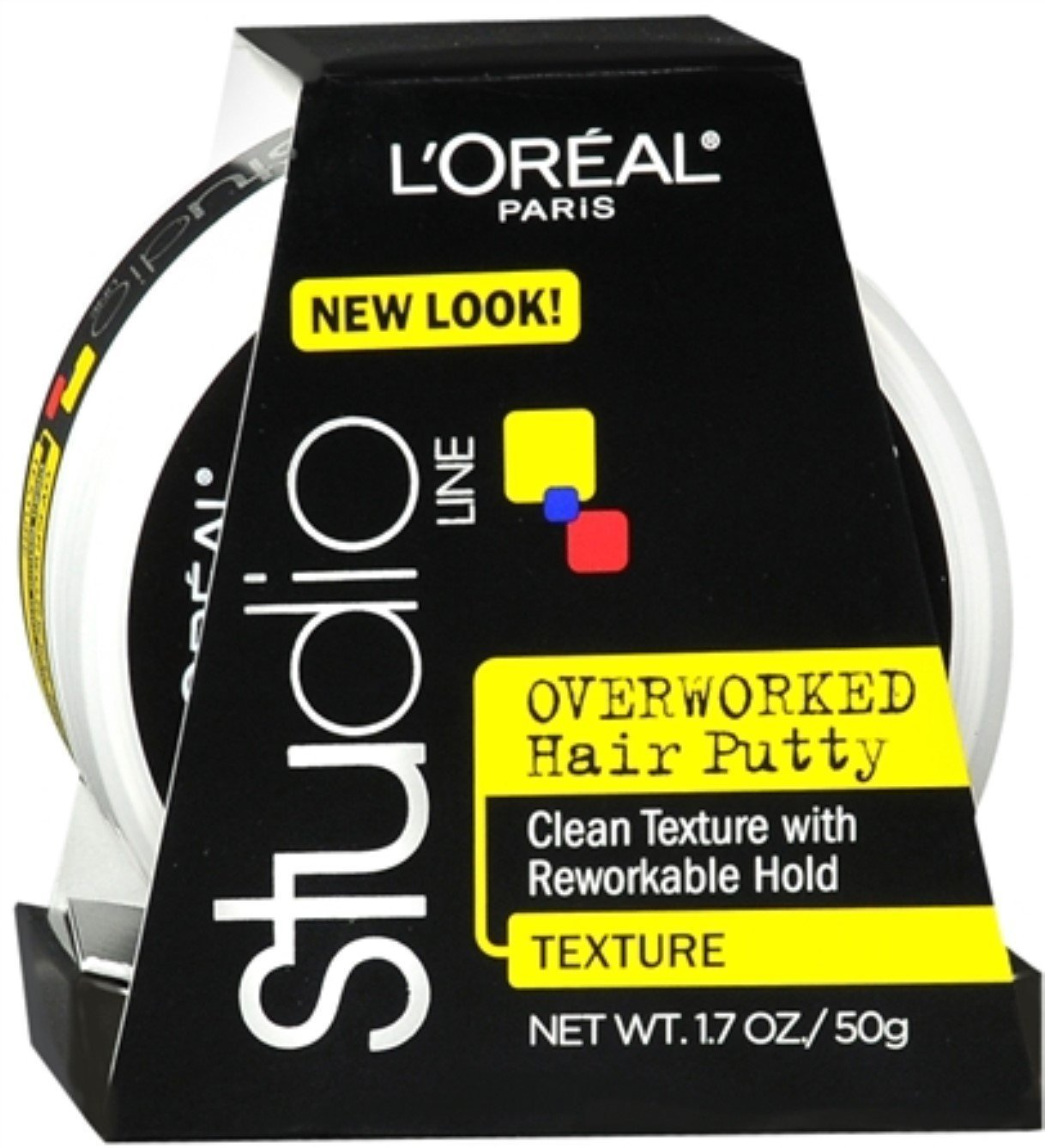 L'oreal Paris Studio Line Texture and Control Overworked Hair Putty 1.7 Oz (2 Pack) L' oreal Paris Inc