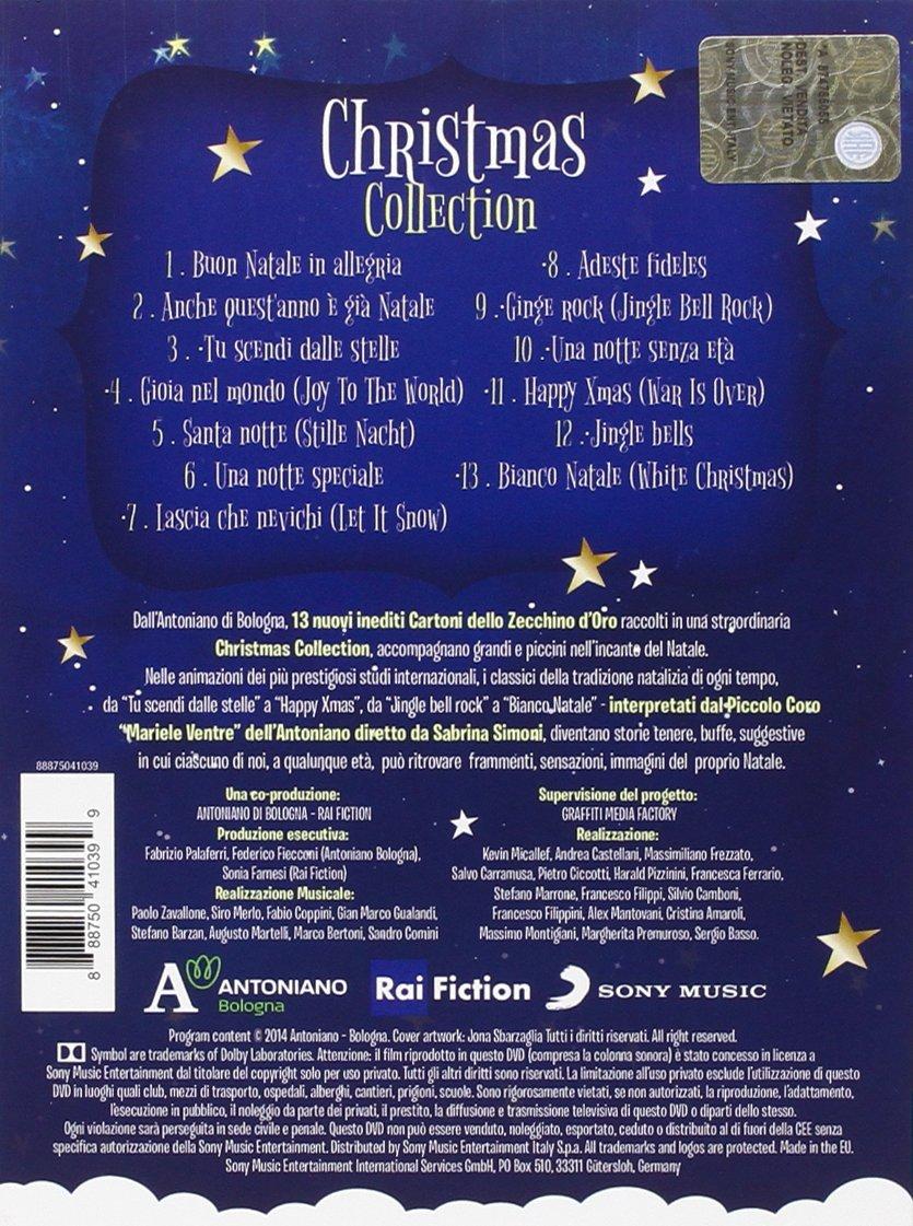 Buon Natale Rap 5 B.I Cartoni Dello Zecchino D Oro Christmas Collection Cd Dvd Amazon