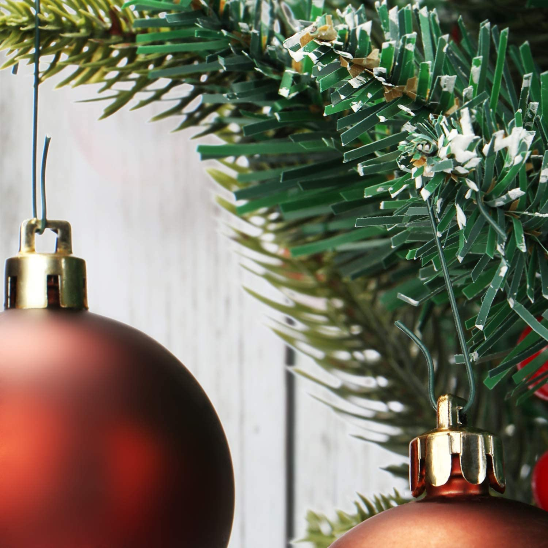 50-1000 crochets balle Cintre Décorations Sapin de Noël Boules de Noël X