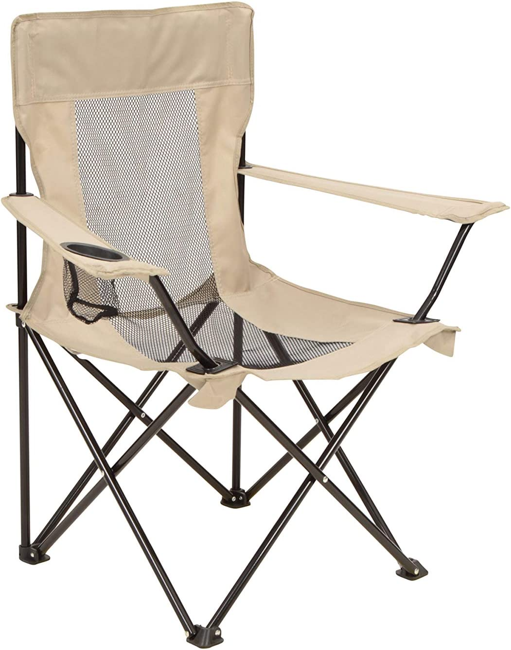 Facile /à Transporter et Portable Mountain Warehouse Chaise Pliante avec Filet ext/érieur Id/éale pour Pique-niques Mobilier de Camping l/éger Jardin r/ésistant