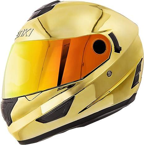 Amazon.com: NENKI Helmets NK-852 - Casco integral para ...