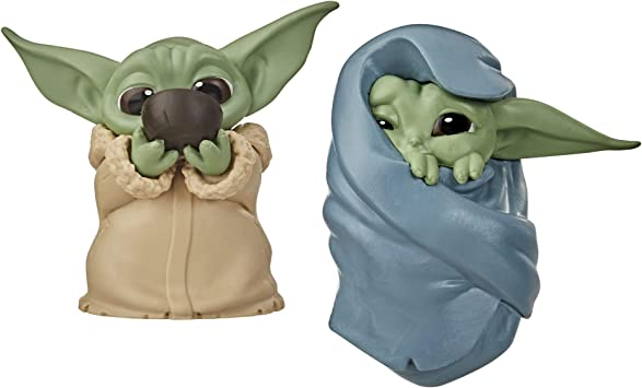 Star Wars The Child Baby Yoda 2 Pack Figures Don/'t Leave Ball Toy IN HAND