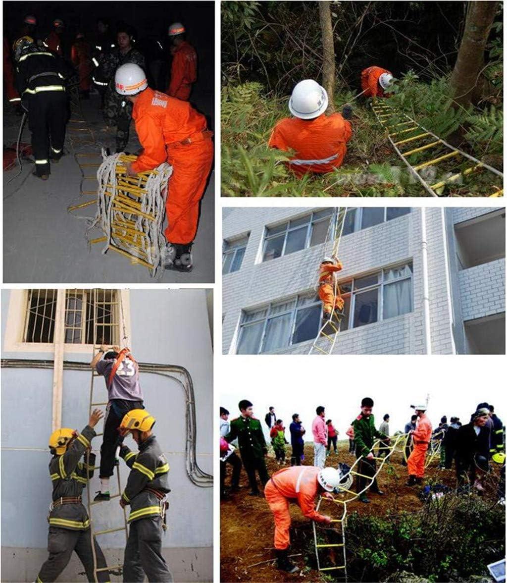 Rettungsleiter Bergsteiger-Trainingsleiter WGE Rettungsseilleiter Fluchtnotfallarbeit Anti-Rutsch-Rettungsleiter