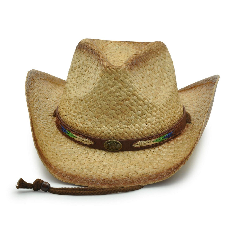 AccessHeadwear Old Stone Outback 5 Men's Women's Unisex Cowboy Drifter Style Hat