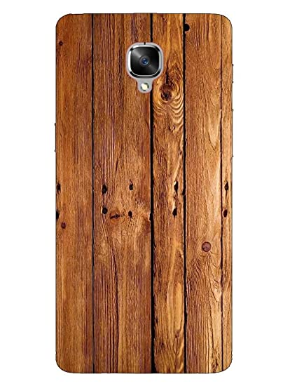 san francisco dce6b f5bad MADANYU OnePlus 3T Cover - Wooden Texture Printed: Amazon.in ...