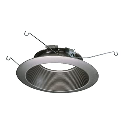 amazon com halo recessed 693snb 6 inch led baffle recessed lighting