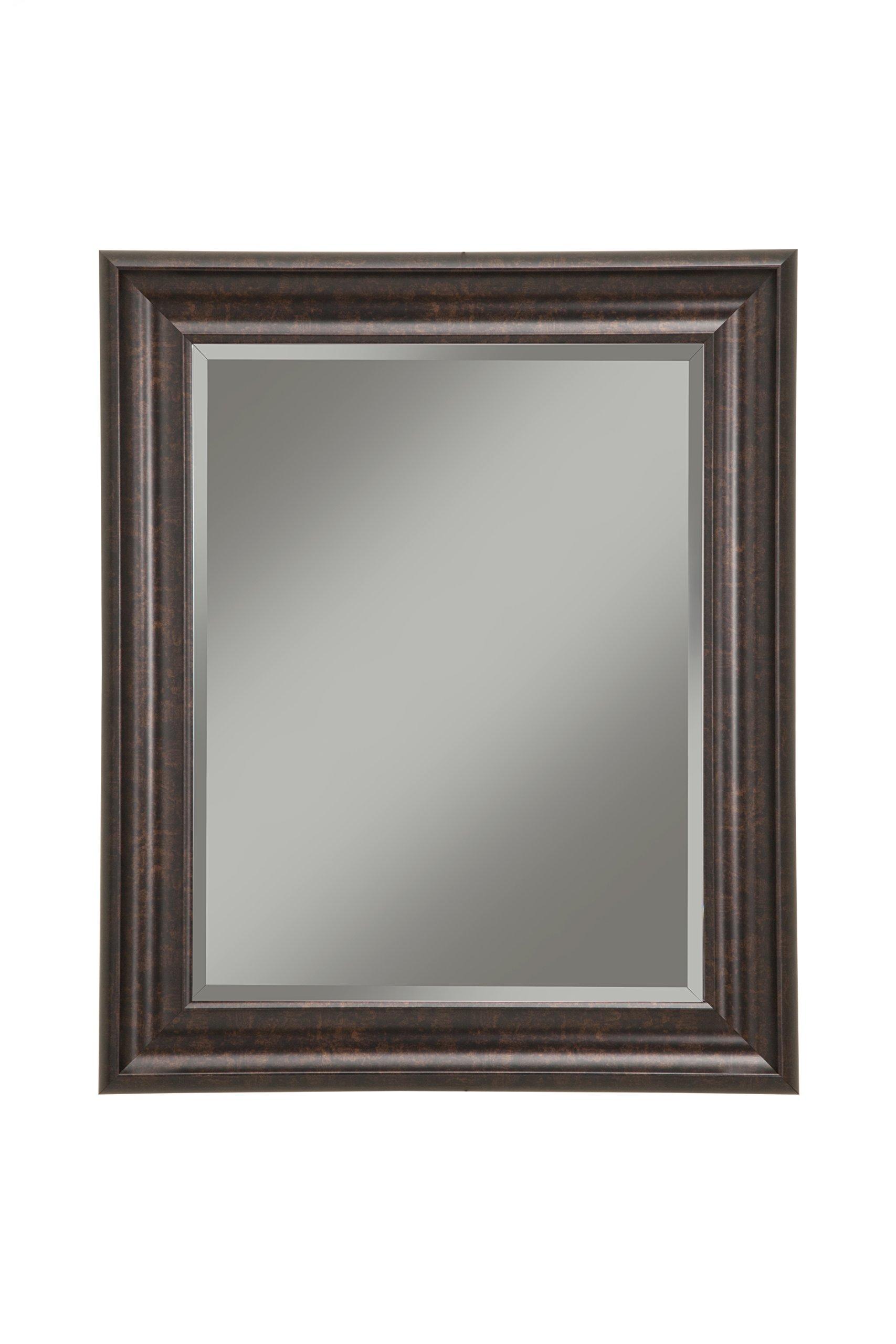 Sandberg Furniture 14217 Oil Rubbed Bronze Wall Mirror Oil Rubbed Bronze,36 X 30''