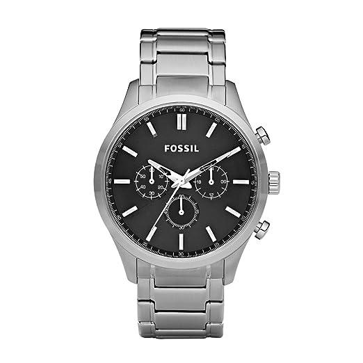 ed17d812704f Fossil FS4636 - Reloj analógico de cuarzo para hombre con correa de acero  inoxidable