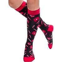 (M/L (W's 8-11), Medical Supplies) - LISH Nurse Compression Socks for Women - Graduated 15-25mmHG Sports Socks