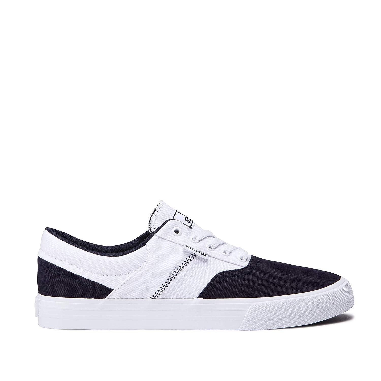 separation shoes a2c3f e36ac Supra Cobalt, Scarpe da Skateboard Uomo B078ZL4B6P 46 46 46 EU Navy bianca- bianca