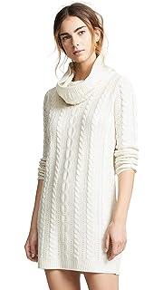 c556282c49d BB Dakota Women s Petite Collins Rib Sweater Dress at Amazon Women s ...