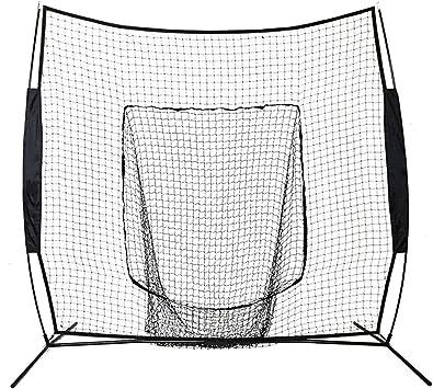 Practica de Softbol Red de Entrenamiento de Tubos de Acero 213 x 213cm Red de Entrenamiento para B/éisbol
