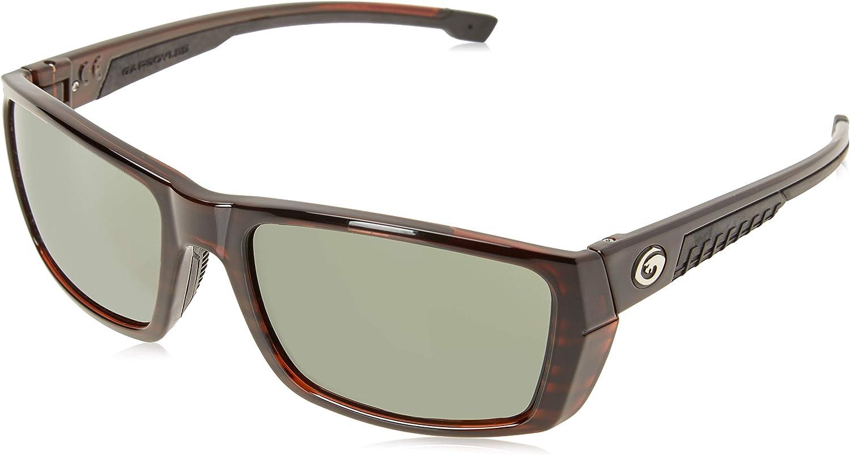 Gargoyles Performance Eyewear Siege Polarized Safety Glasses, Tortoise Frame Frame/Green Lenses