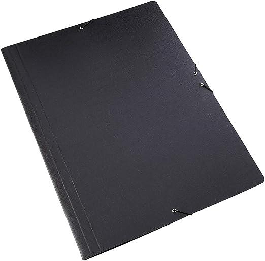 Pack de 5 Carpetas Sencillas con Goma Elastica Tamaño A2 Color ...