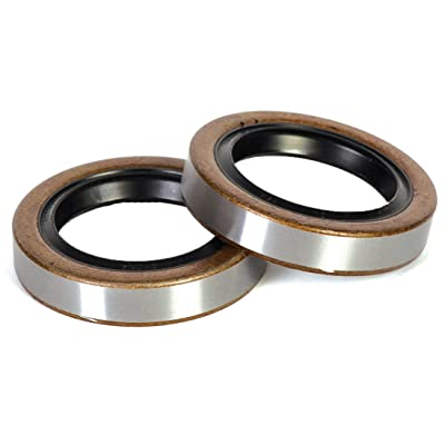 """Husky 30828 Grease Seal for 10"""" x 2.25"""" Hub Drum and Idler Hubs, (Pack of 2): Automotive"""