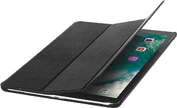 StilGut Housse iPad Pro 12.9 (2017) Couverture en Cuir Fin avec Fonction Veille et avec Fonction Support. Coque de Protection pour iPad Pro 12,9 Pouces (2017), Noir