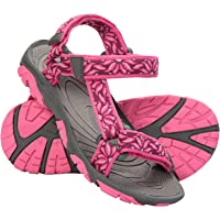 Mountain Warehouse Tide Kids Sandals - Neoprene Lined, 100% Rubber Outsole Childrens Shoes, Hook & Loop Fitting Beach Shoes - for Summer Walking, Beach, Travelling