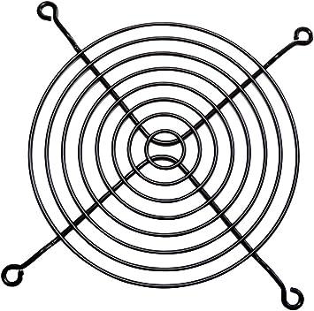 AERZETIX: 2X Rejilla Negro de protección 127x127mm ventilación ...
