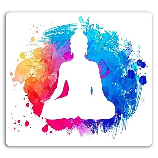 2 x 10cm Yoga Meditación pegatinas de vinilo - pintura del ...