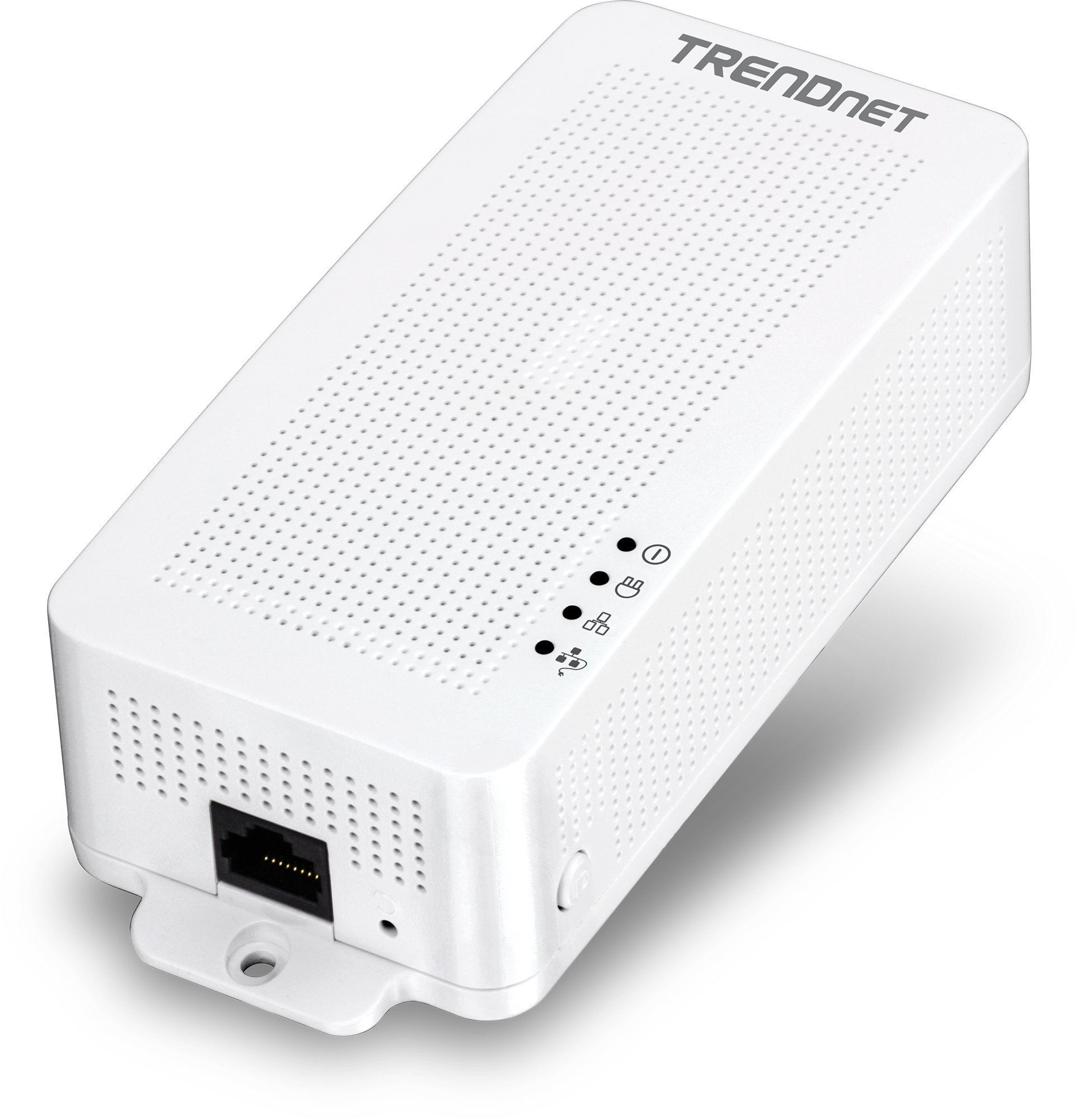 TRENDnet Powerline 200 AV PoE+ Adapter, PoE+ Output Port Supports PoE (15.4W) and PoE+ (30W) Devices, Range up to 300m (984 ft.), TPL-331EP