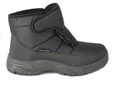 Botas para la Nieve de los Hombres, Cálido y Confortable, Suela Antideslizante: Amazon.es: Zapatos y complementos