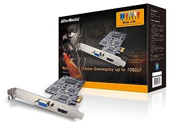 Amazon.com: Game broadcaster HD – videoschnittkarte – PCI ...