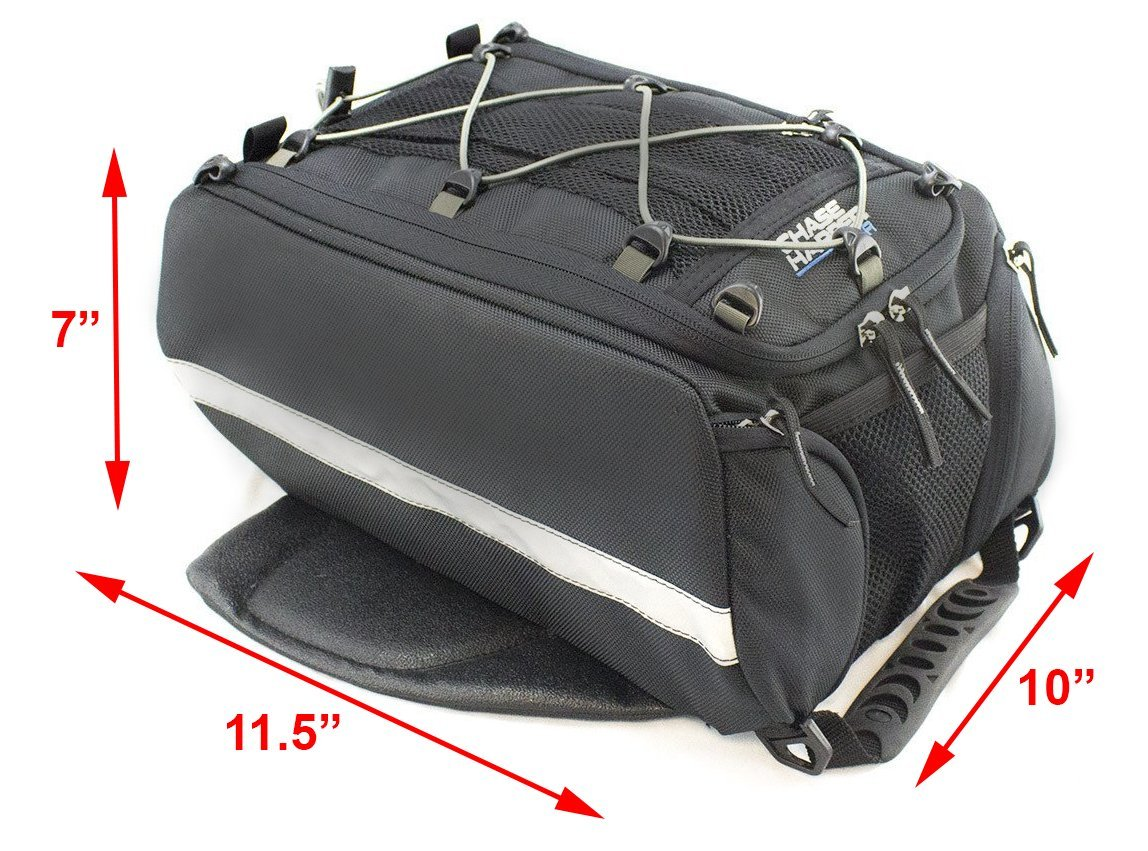Chase HarperUSA1650 Magnetic Tank Bag - Water-Resistant, Tear-Resistant, Industrial Grade Ballistic Nylon with Anti-Scratch Rubberized Polyester Bottom, Strong Neodymium Magnets, 11.5''L x 10''W x 7''H by Chase HarperUSA (Image #3)