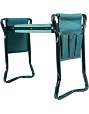 """Ohuhu Garden Kneeler and Seat with Bonus Tool Pouch, 22.83"""" Long X 11.02"""" Wide X 19.29"""" Hight (Unfolded Size)"""