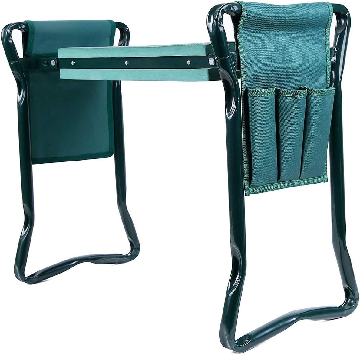 Ohuhu Garden Kneeler and Seat with 2 Tool Pouches