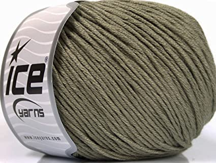 0d3fbb54d Amazon.com  Lot of 4 x 100gr Skeins Ice Yarns Cotton Bamboo Light ...