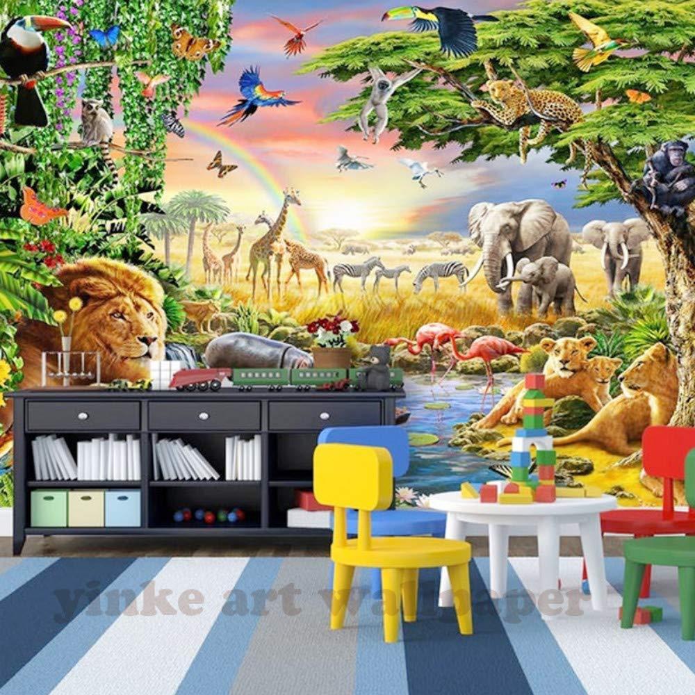 Amazoncom Childrens Room Cartoon Background Custom 3d