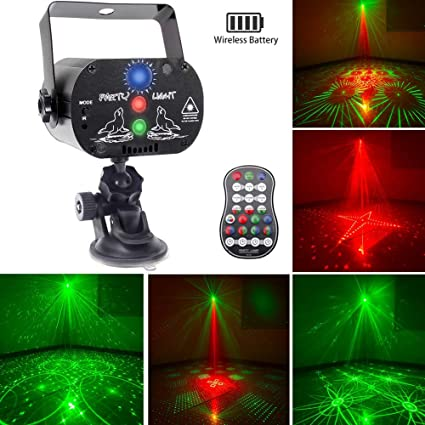 Luces Discoteca Led Party lights Bater/ía incorporada Luz de Con el soporte