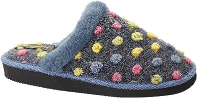 Zapatillas de estar por casa abiertas modelo Donna para mujer: Amazon.es: Zapatos y complementos