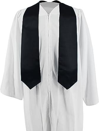 Forest Green HEPNA Unisex Plain Graduation Stole,60 Long Honor Stole for Adult Graduation Academic Photography