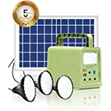 WAWUI Portable Power Station 84Wh with Solar Panel, Generator Kit with Flashlights for Home Emergency Backup Power, Camping l