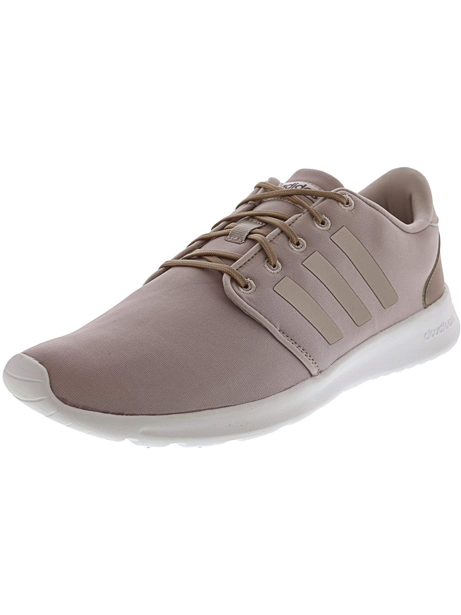 adidas Women's Cloudfoam Qt Racer Ice Purple/Vapor Grey Metallic Ankle-High Running Shoe - 7.5M by adidas