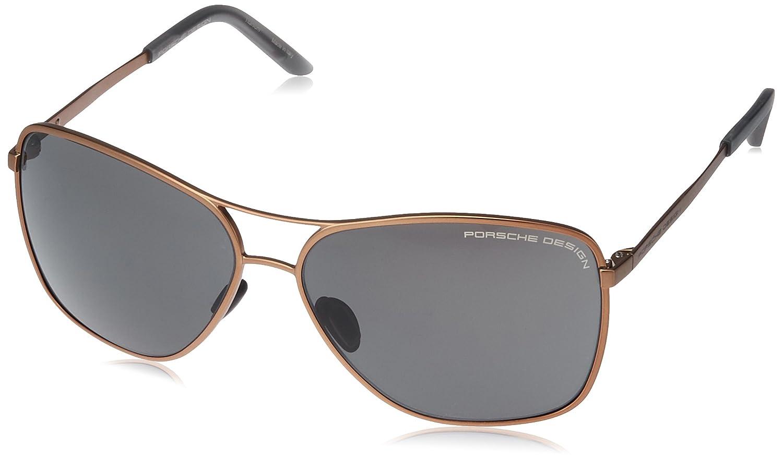 [ポルシェデザイン] PORSCHE DESIGN メガネ 1001353 メンズ ブラウン 日本 62 (FREE サイズ)   B01E0OT4TY