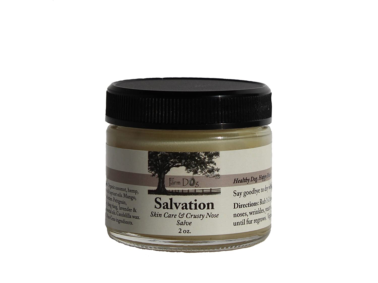 Farm Dog Naturals Salvation Skin Care Crusty Nose Balm – Herbs Remedies for Dogs
