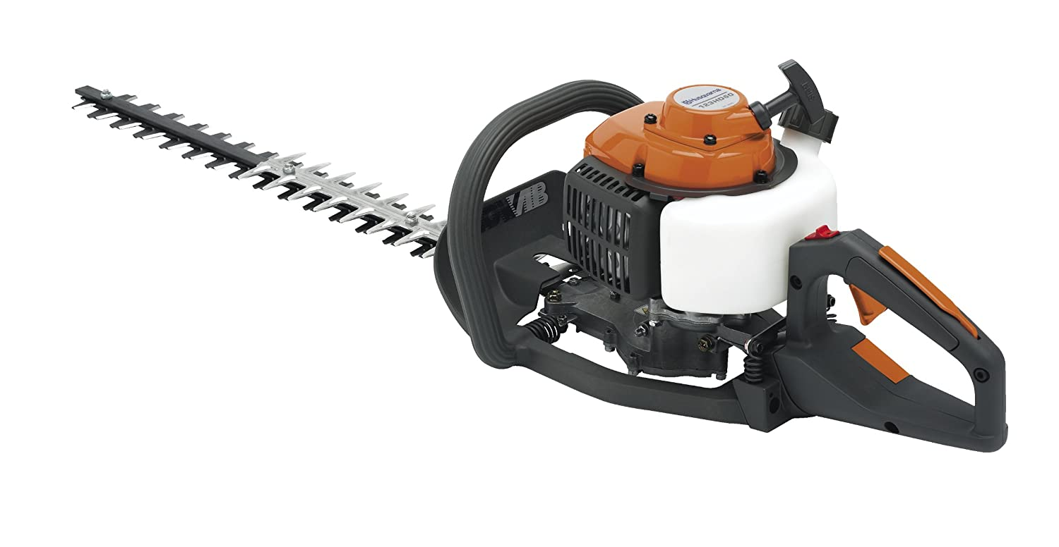 Amazon.com : Husqvarna 123HD65x 23.6-Inch 22.5cc 2-Cycle Gas Powered Hedge  Trimmer With Smart Start : Garden & Outdoor