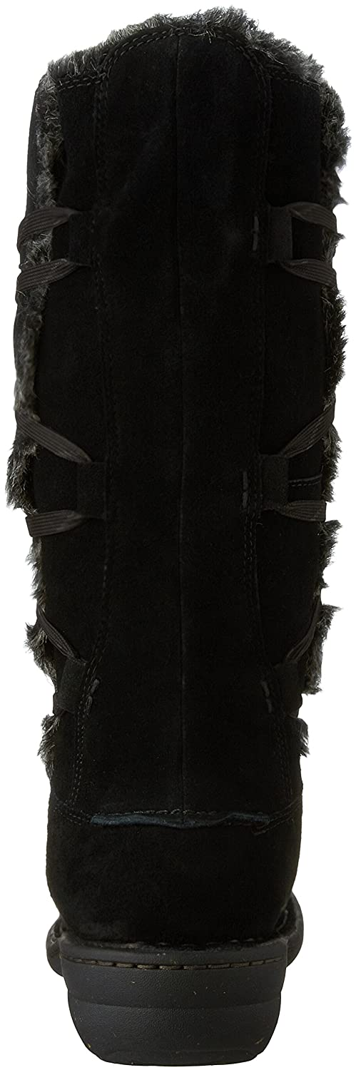 CLARKS Womens Avington Hayes Leather Closed Toe Mid-Calf Cold Weather Boots B01I5JM3NY 11 B(M) US|Black Combination Cow Suede