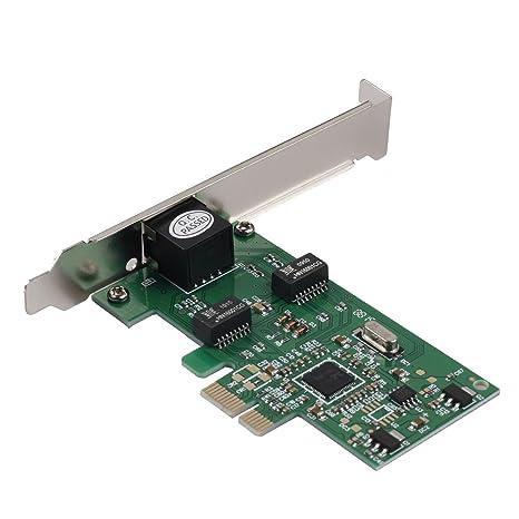 Semlos tarjeta de red PCIe 10/100/1000 Mbps Gigabit Ethernet ...