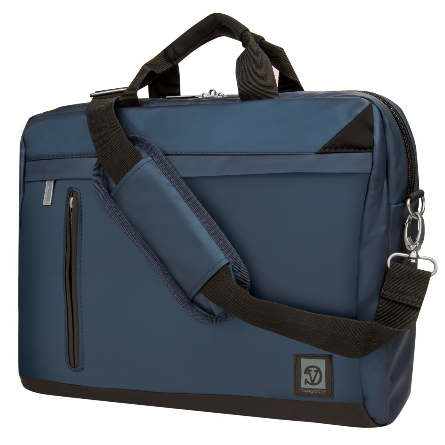 VanGoddy Adler Briefcase Messenger Bag for Dell 14 to 15.6-inch Laptops (Blue) cheap