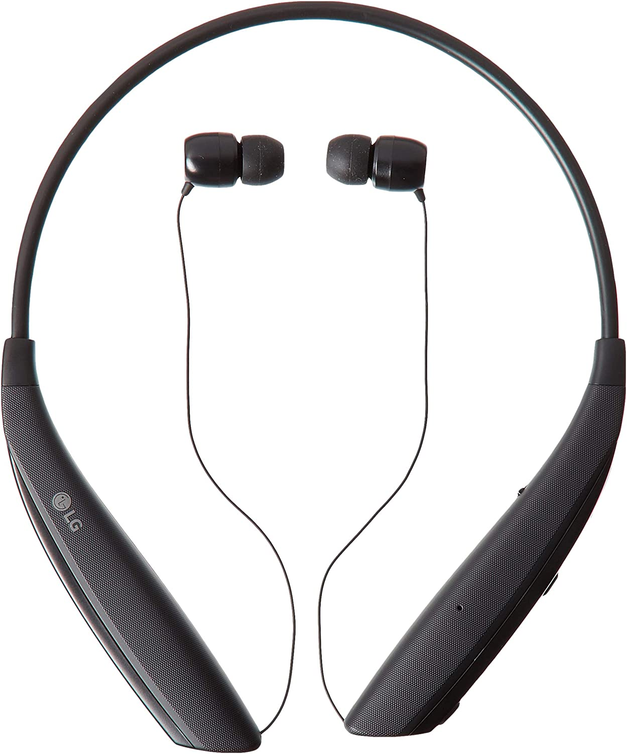LG Tone Ultra α Bluetooth Wireless Stereo Neckband Earbuds (HBS-830) - Black