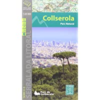 Serra de Collserola, mapa excursionista. Escala 1:20.000. Català. Alpina editorial.