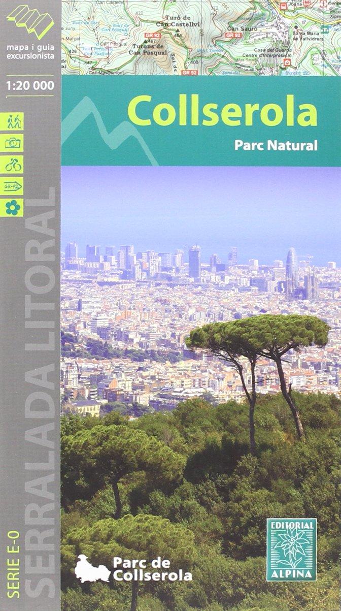Serra de Collserola, mapa excursionista. Escala 1:20.000. Català. Alpina editorial. ALPINA 20 - 1/20.000: Amazon.es: EDITORIAL ALPINA: Libros